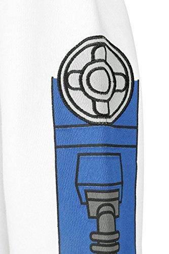 Star Wars R2-D2 Sweat à capuche zippé blanc/gris clair blanc/gris clair