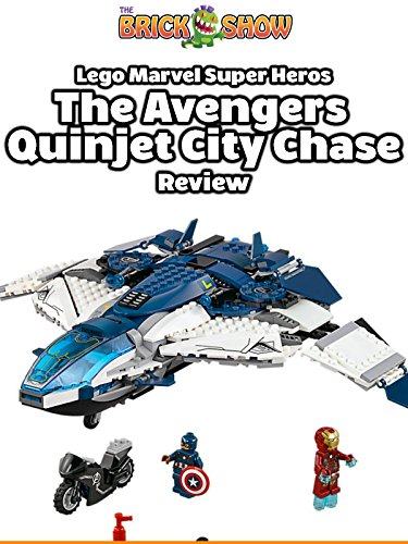 Review: Lego Marvel Super Heros The Avengers Quinjet City Chase Review [OV]