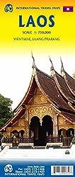 Touristik Karte Laos 1:750 000
