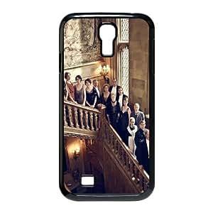 Downton Abbey Series-Coque pour Samsung Galaxy S4 Motif Downton Abbey fonte de couleur noir