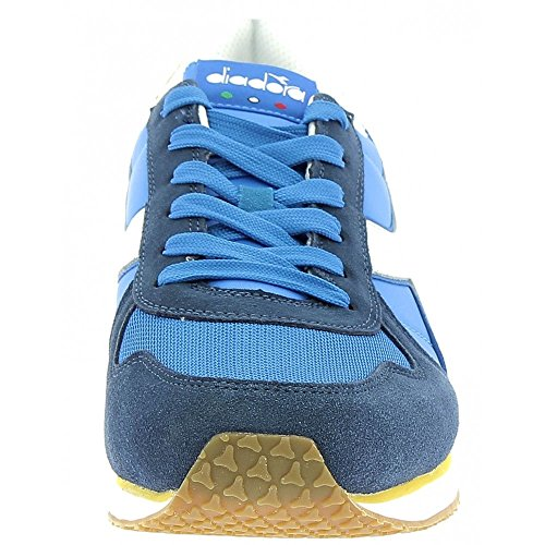 Diadora Herren K-Run II Sneaker Low Hals, Dark Blue/Ferrari Red Fallschirmspringer / Mimose
