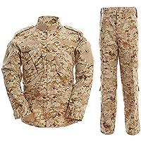 Noga Traje de camuflaje Traje de combate Traje de Campeonato Militar Uniforme Traje de caza para Planos Juegos Paintball Chaqueta y Pantalones