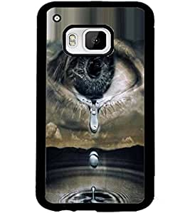 ColourCraft Creative Eye Design Back Case Cover for HTC ONE M9