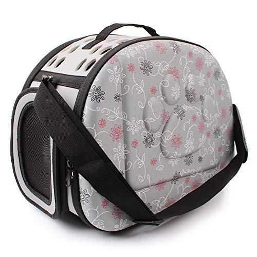 QSEVEN Pet Sling Tragetasche, Print Reversible Kleine Reisetasche Weich Komfortable Puppy Pouch Tote Handtasche für Hund