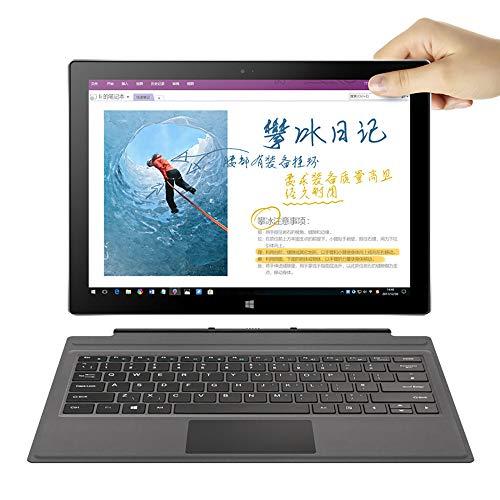 Fulltime E-Gadget i7 Plus Windows 10 Home 2,7 GHz 8 GB + 256G 12,6 Zoll 2880 x 1920 Auflösung 10200mAh Große Batterie Tablet PC (Silber)
