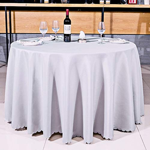 Hotel Restaurant Restaurant européen, nappe, nappe en tissu polyester enduit, conférence, rectangulaires 47,24 * 47.24cm nappe nappe Tapis de table Linge de table couvercle ( Couleur : Gris argent )