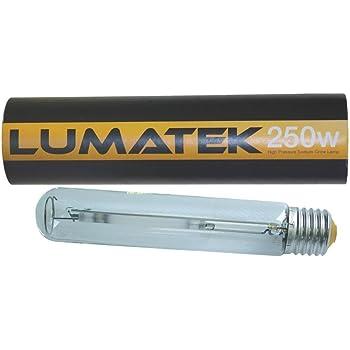 Lumatek 250W HID Dual Spectrum HPS Sodium Grow Lamp Bulb Hydroponics