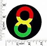 infinity Jah ejército Militar el León de judá Rasta Reggae Rastafari Jamaica África motocicleta parche para planchar y bordado a mano coser símbolo chaqueta camiseta parches apliques accesorios
