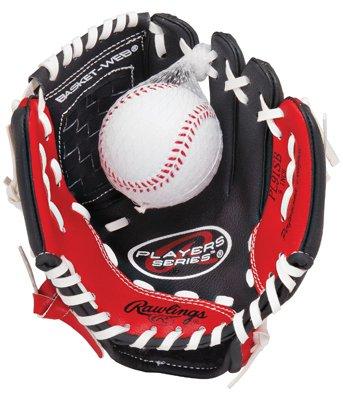rawlings-joueurs-serie-9-pouces-jeunesse-gant-de-baseball-avec-la-balle-compris-throw-droite-pl90mb