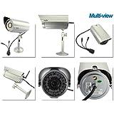 iClever®Wansview IP Camera sans fil IP cam de surveillance NCM621W HD Mega Pixel wifi pour extérieur etanche avec vision nocturne