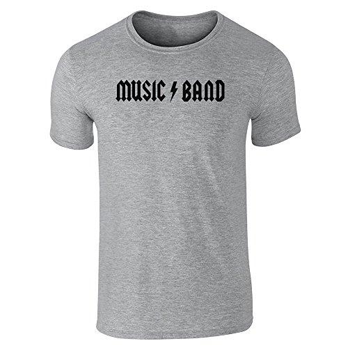 Pop Threads Herren T-Shirt, Grau, 847985