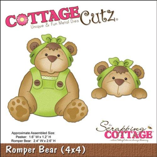 Cottage Cutz 4-Zoll Strampler Bär Sterben Schnitte mit Schaumstoff - Cutz Cottage