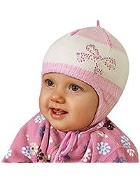Tutu by Galeja Mädchenmütze aus 100% Merino Wolle in 2 Farben in Größe 40-44 und 44-48 Babymütze