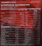 Prozis Poudre 100% Real Whey Protein (1000 g) -  Meilleur goût fraise avec des acides aminés essentiels et riche en BCAA pour une récupération et une croissance musculaire maximales - 40 doses !