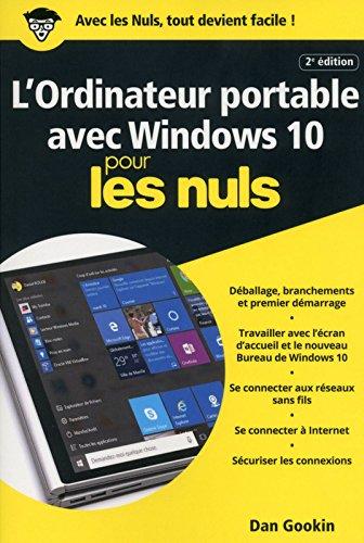 L'Ordinateur portable avec Windows 10 pour les Nuls poche, 2e édition