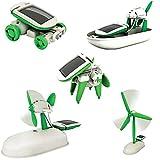 #3: EMOB Diy 6 In 1 Hybrid Models Solar Robot Educational Kit For Kids