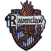 Harry Potter Ravenclaw británico escudo bordado insignia parche para coser o planchar 7,5cm x 6,4cm
