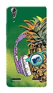 MTV Gone Case Mobile Cover for Lenovo A6000 Plus