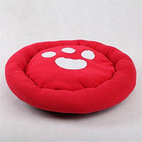 oofwy Fashion mit Hundemotiv bequem selbst Erwärmung Pads Creative Runde Form Pet bett, zufällige - Pet-erwärmung Pad