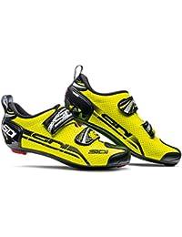 Sidi T de 4Air Carbon bicicleta guantes Amarillo/Negro, unisex, 47