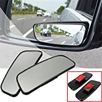 Audew 2x Miroir Rétroviseurs Extérieur Auxiliaire Miroir d'Angle Mort Mirror Blind Spot Pour Voiture Camion