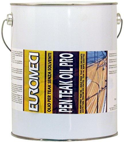 EUROMECI eptop4Pflegeöl, Farblos, 4000ml (Deck Sealer)