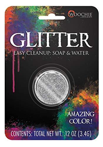 Silver Glitter Makeup Standard ()