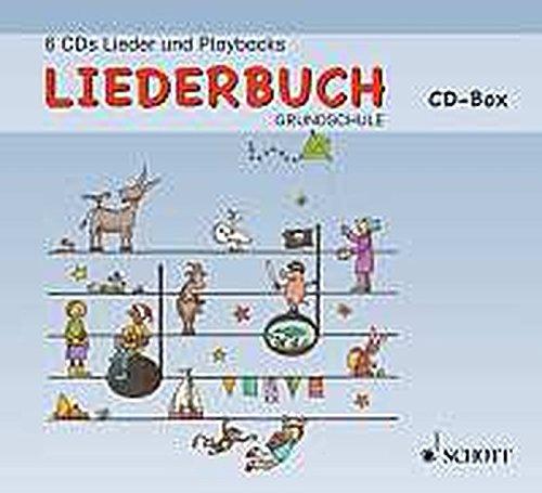 (Liederbuch Grundschule: Lehrer-CD-Box. 6 CDs.)