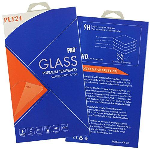 plt24 Microsoft Lumia 550 Panzerglas Schutzfolie Schutzglas 9H Hartglas Glasfolie Bildschirmschutzglas Bildschirm Folie für Microsoft Lumia 550