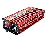 Wildlead Portable 3000W DC 12V / 24V zu AC 110V / 220 V Auto LED Wechselrichter Charger Converter