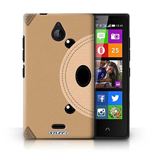 Kobalt® Imprimé Etui / Coque pour Nokia X2 Dual Sim / Tigre conception / Série Cousu des Animaux Effet Ours