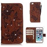 BoxTii Coque iPhone Se 5 5s, Housse Etui en Cuir pour Apple iPhone Se/iPhone 5 / 5s...