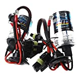 Bombilla - SODIAL(R) 2 x bombillas luz Faro H7 CoDIGO AUTO luz lampara del coche HID XENoN 35W LED 8000 K BOMBILLAS LaMPARA 12V