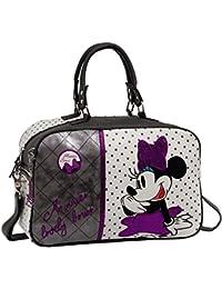 Disney Minnie Bows Bolsa de Viaje, Color Blanco, 13.88 Litros