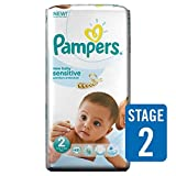 Pampers New Baby Sensitive Taille 2 Pack Essential 48 par paquet