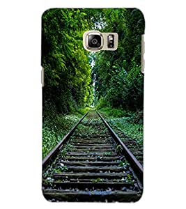 SAMSUNG GALAXY S6 EDGE PLUS TRACK Back Cover by PRINTSWAG