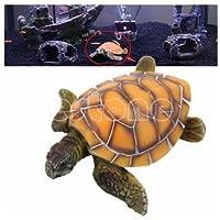 ZPP-Acquario Acquario accessori resina tartaruga ornamento acquario tartaruga ornamento resina giallo sea turtle ornamenti