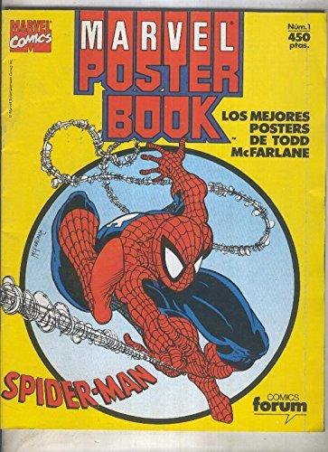 Marvel Poster Book: Spiderman (numerado 1 en trasera)
