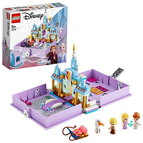 LEGO43175DisneyFrozenIIAnnaandElsa'sStorybookAdventuresPlayset,PortableTravelCaseToy