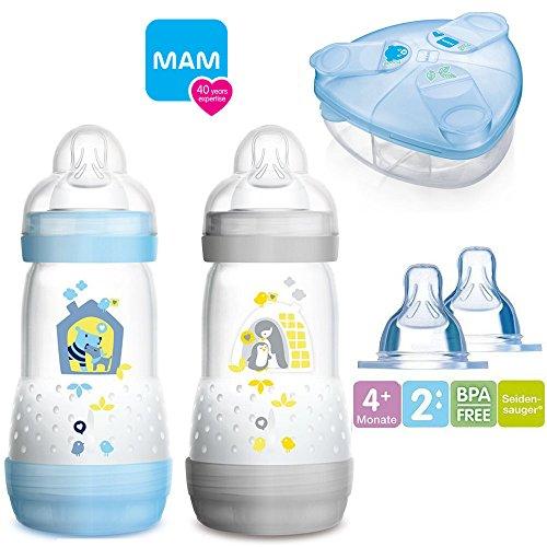 MAM Sparset III Anti-Colic Starter-Set mit Anti-Kolik Flaschen Set