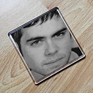 Bruno Langley - Original Art Coaster #js001