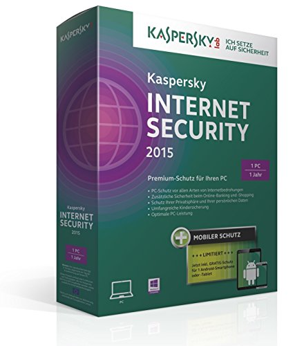 Kaspersky Internet Security 2015 - 1 PC + Android Security (Norton Security 1 Pc 2015)