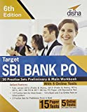 Target SBI Bank PO 20 Practice Sets Preliminary & Main Workbook with 5 Online Tests