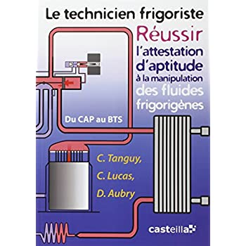 Le technicien frigoriste : Réussir l'attestation d'aptitude à la manipulation des fluides frigorigènes du CAP au BTS