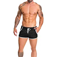 Alivebody Men's Mesh Athletic Shorts for Running Workout Swimming Quick Dry Lightweight
