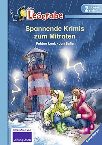 Buchcover Spannende Krimis zum Mitraten (Leserabe - 2. Lesestufe)