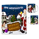 trendaffe - Schönwald Oberfranken Weihnachtsmann Kaffeebecher