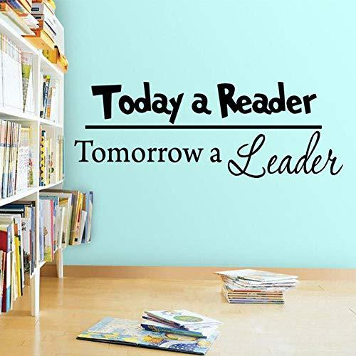 cooldeerydm Die Leser von heute, die Leader-Wandaufkleber von morgen für die Bildungsversion VWAQ A13 052 für Kinder
