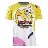Qingningwenhua Unisex FF15 Dissidi PS4 Final Fantas Moogl T-Shirt Weste Cosplay Kostüme Schmuck Halskette Halsreif Ring Retro Kappe Hut Gerbutstag Geschenck (Moogl T-Shirt, X-Small)