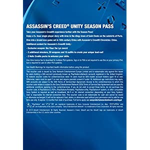 Assassin's Creed Unity: Season Pass  [Online Game Code]